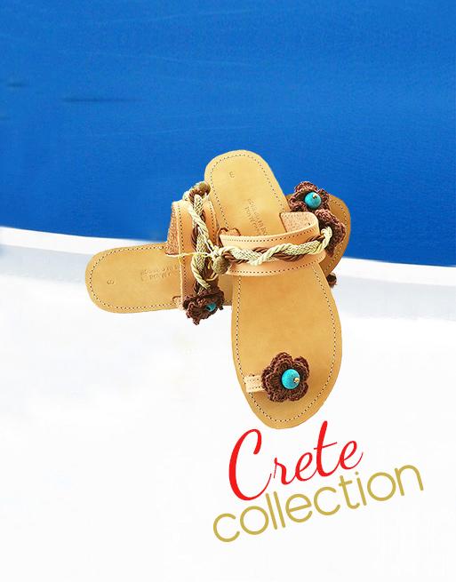 Σανδάλια Κρήτη, γυναικεία σανδάλια, αρχαιοελληνικά σανδάλια, χειροποίητα δερμάτινα σανδάλια, ελληνικά σανδάλια αγορά online, κομψά σανδάλια κολεξιόν Κρήτη