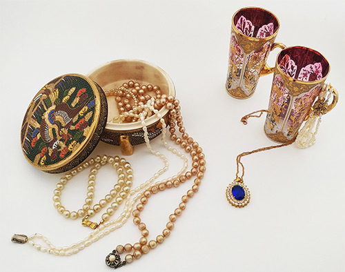 Χειροποίητα κοσμήματα, ακριβά σερβίτσια, χρυσά κοσμήματα Σαντορίνη -Αλεξάνδρεια-Αθήνα από σχεδιάστρια κοσμημάτων Άννα Μαρία